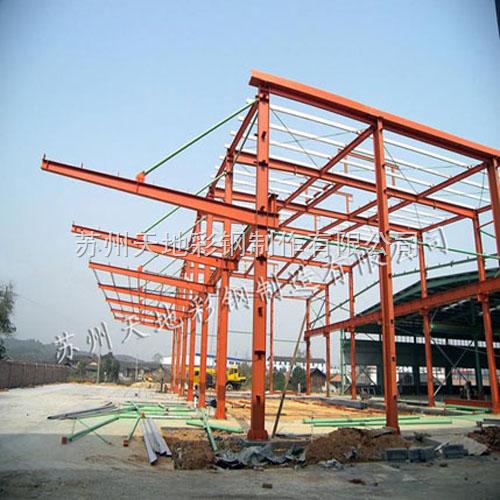苏州天地彩钢制造有限公司是生产防腐单层彩钢板,专业承接各种钢结构
