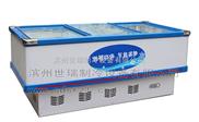 世瑞制冷卧式直冷冷冻岛柜 平岛展示柜2.5米
