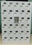 50门大量供应学校学生手机平板电脑专用充电箱亚津生产批发