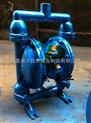 供应QBY-15上海隔膜泵厂家 气动隔膜泵型号 耐腐蚀气动隔膜泵