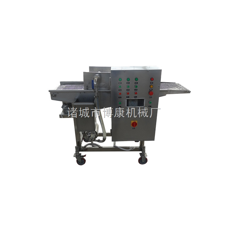 食品上浆机 诸城上浆机生产厂家 定制加工食品上浆机