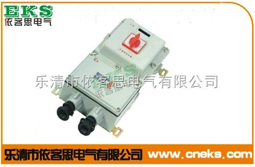 BLK52-20A防爆断路器/防爆断路器箱(铸铝)