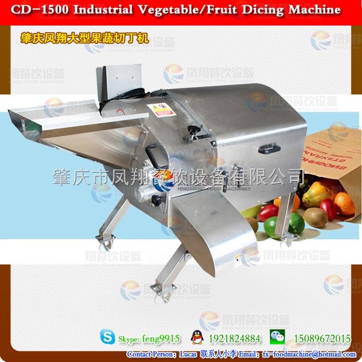 大型果蔬切丁机 土豆切丁机 萝卜切丁机 大产量 每小时2吨以上