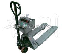 能移動可打印稱重2t電子磅秤,2噸叉車電子磅參數