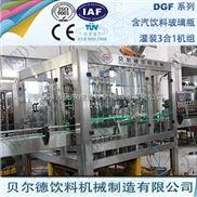 DGF 14-12-5-全自动玻璃瓶装啤酒灌装机