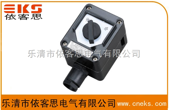 BZA8050-K防爆防腐照明开关IIC(黑色塑壳)