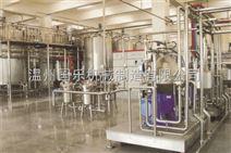 瓶装乳品饮料生产线工艺图