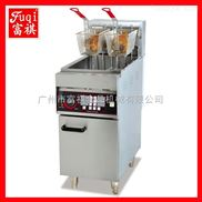 【广州富祺】DF-26A立式单缸双筛电炸炉 带六通道计时器功能 品质上乘 欢迎订购