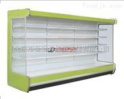 蔬菜保鲜柜水果冷藏柜天津风幕柜