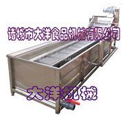 气浪式菠菜清洗机,鼓泡洗菜机