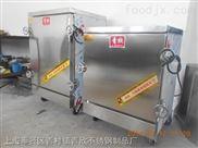 上海青欣牌高级不锈钢蒸饭箱蒸饭车蒸饭柜6层
