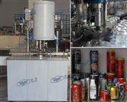 易拉罐封口机,易拉罐含汽饮料生产线