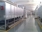 网带式焦粉干燥机干燥过程及工作原理