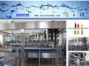 BBR-0187-24頭玻璃瓶預調雞尾酒含氣飲料生產線