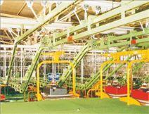 悬挂输送机,输送生产厂家,广东悬挂输送机供应,烘箱,烘道