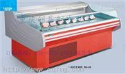 供应创基商用冷柜 敞开式2米~3米鲜肉柜 鲜肉冷藏冰柜