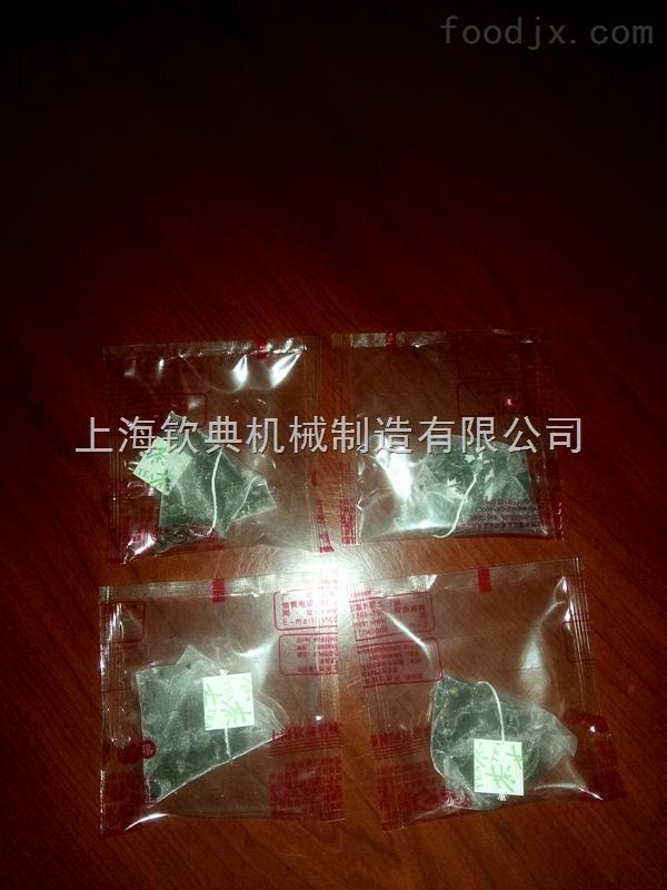 凉茶药茶三角包内外袋包装机