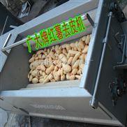 红薯清洗去皮机 平行毛辊电动洗红薯机器