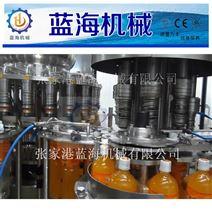檸檬茶飲料三合一灌裝生產線/飲料全自動灌裝機