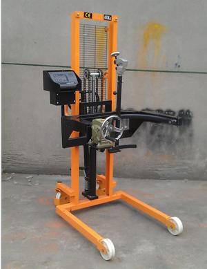 dtc-带电子秤液压油桶车