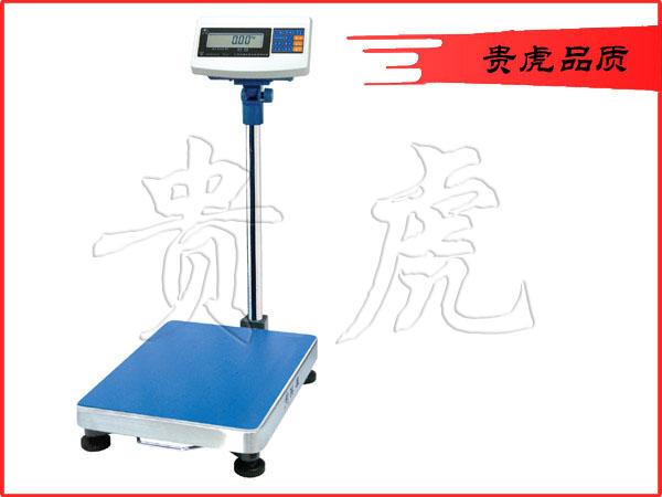 无锡落地式台称,60公斤报警控制台秤